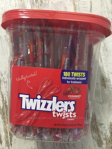 Желейки TWIZZLERS со вкусом клубники, 180шт