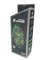 Универсальная проводная компьютерная мышь MOUSE 518 Game