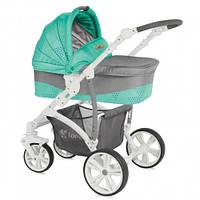 Детская универсальная коляска 2 в 1 Bertoni ARIZONA green&grey