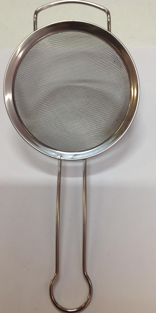 Сито 16 см на ручке нержавеющая сталь