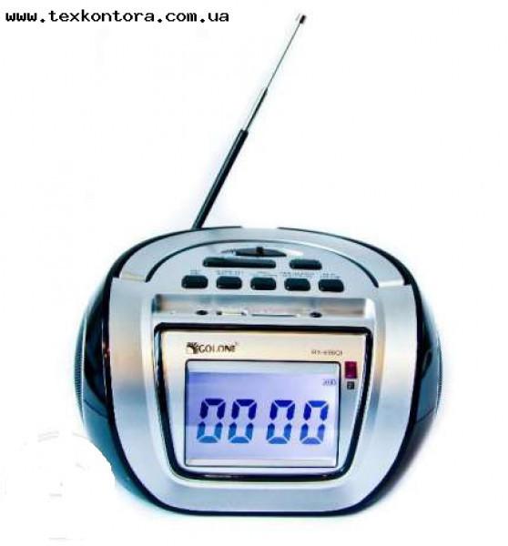 Радиоприёмник GOLON RX-656Q usb+fm