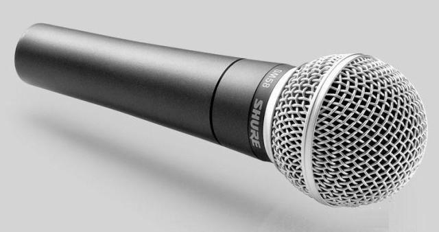 Микрофон Shure Beta 58A Vocal динамический шнуровой (копия хорошего качества)