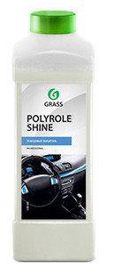 """Полироль для кожи, резины и пластика """"Polyrole Shine"""" 1:1 глянцевый блеск 1л, Grass TM"""