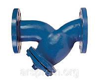 Фильтр фланцевый чугунный для воды