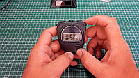Секундомер для спорта будильник + часы  KTJ-TA228