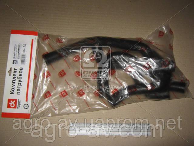 Патрубок радиатора ГАЗ 3302 (дв.406) (компл.4 шт.)DK-1324 <ДК>
