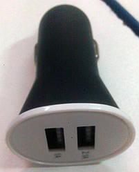 Зарядное устройство авто 2,1А,  1А