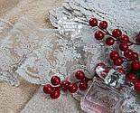 Кружево Блюмарин бежевое с мелкими цветами, ширина 12 см, фото 3