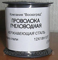 Проволока для рамок нерж пищевая д 0,4 мм