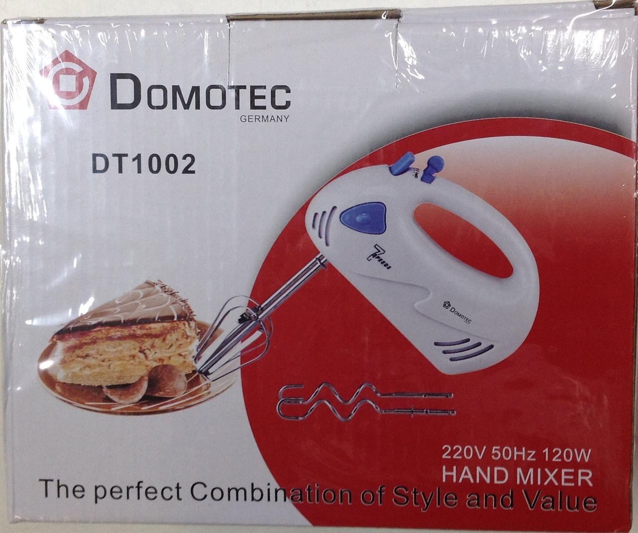 Миксер Домотек DT-1002