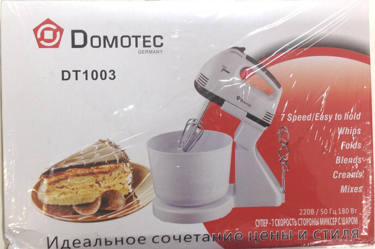 Миксер с чашей Domotek 1003 DT