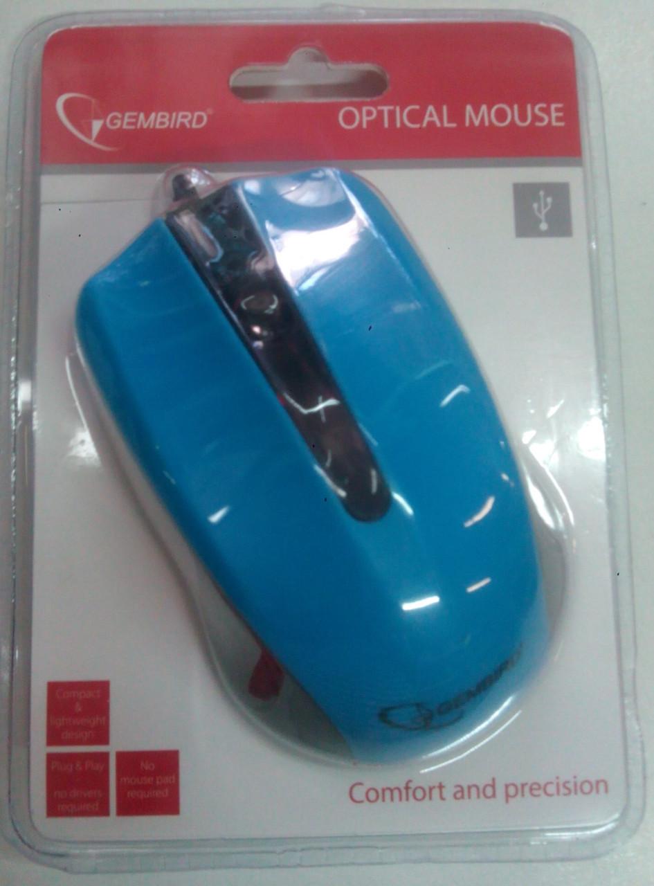Мышка Gembird MUS-101 USB интерфейс  проводной