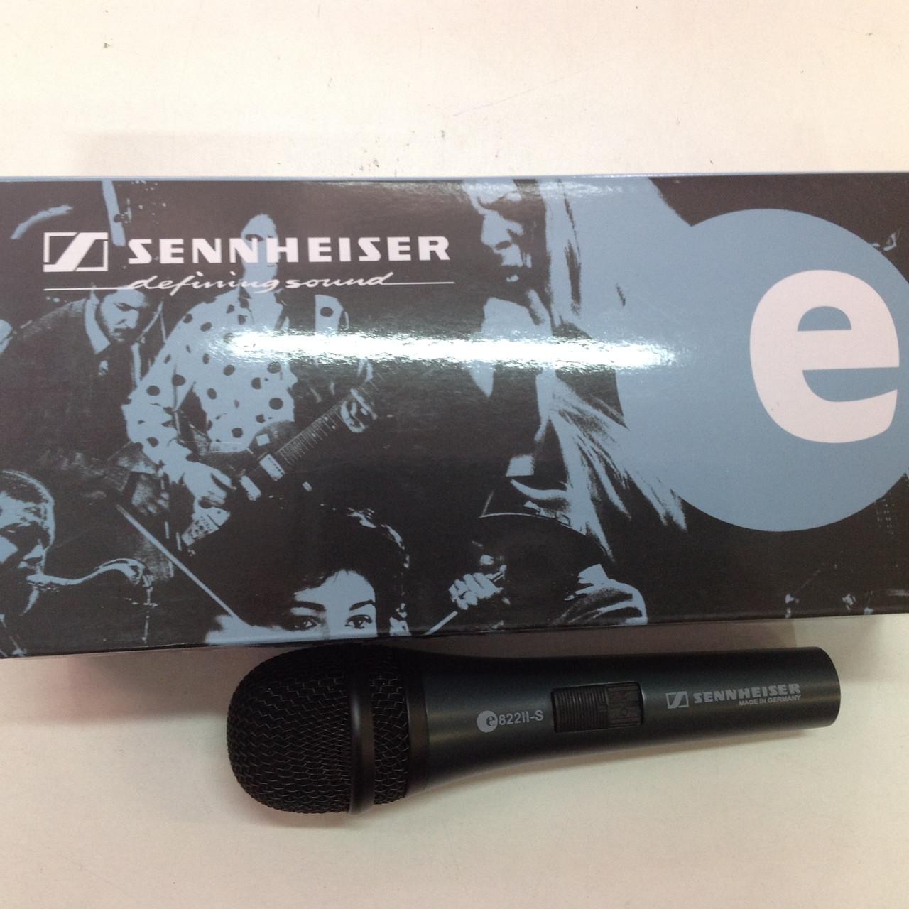 Микрофон SENNHEISER E 822II-s А-клас шнур 4м (копия хорошего качества)