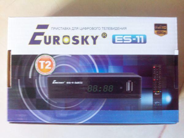 Тюнер, ресивер-Eurosky ES-11 DVB-T2