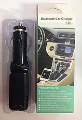 FM-трансмитер модулятор Kronos MP3 Bluetooth S16BL