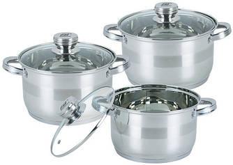 Набор посуды ( Набор кастрюль ) 6 предметов Bohmann BH 06-275