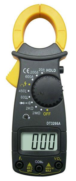 Токовые клещи DT-3266A мультиметр