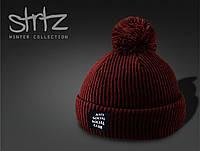 Модная шапка с помпоном Anti Social Social Club