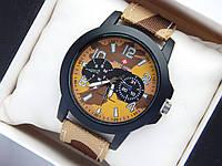 Мужские (Женские) кварцевые наручные часы Swiss Army на ремешке из ткани (полиэстера), хаки, песчаный камуфляж