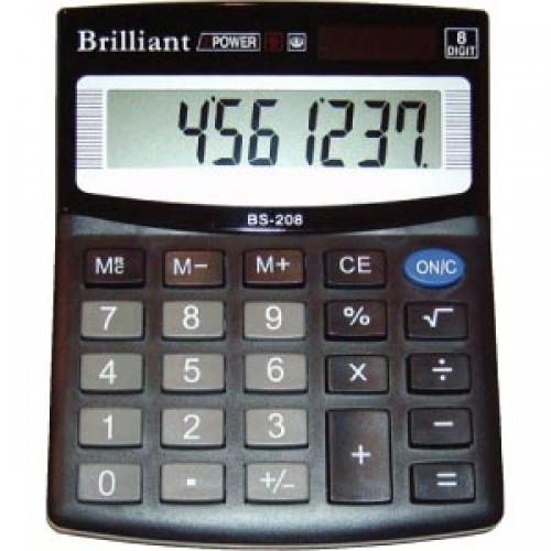 Калькулятор-Brilliant BS-208