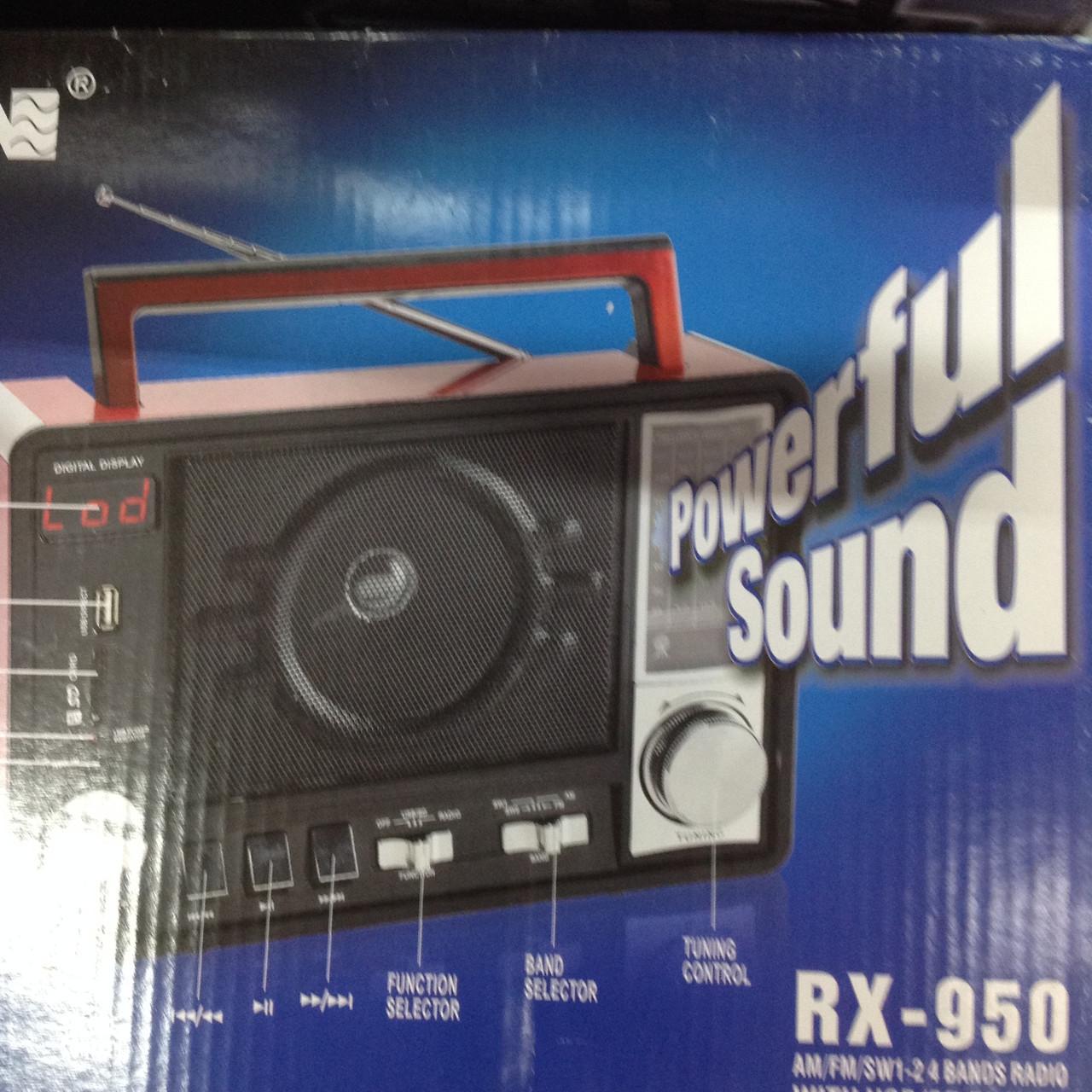 Радиоприемник колонка MP3 Golon RX-950