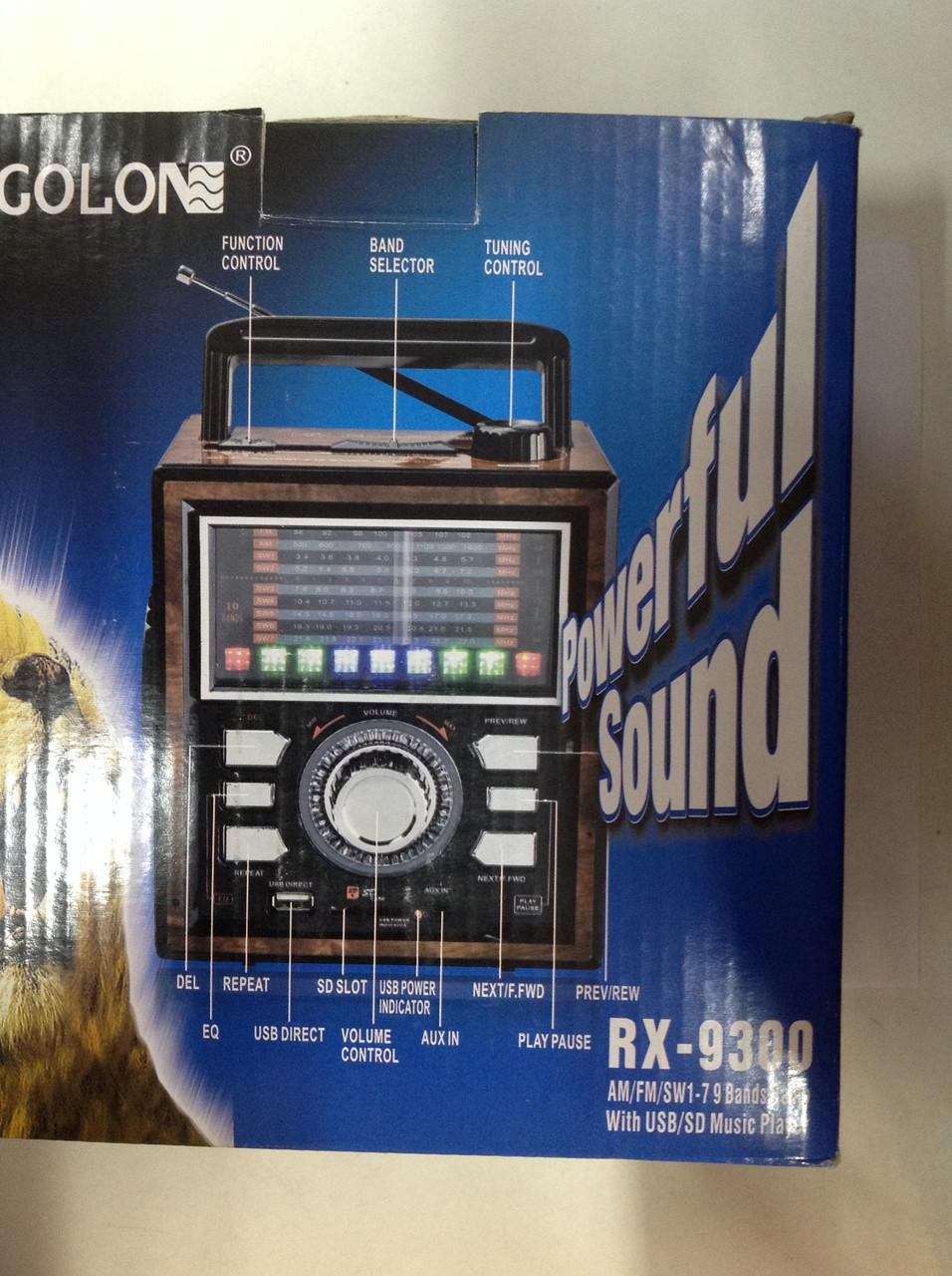 Радиоприёмник GOLON RX-9300