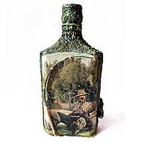"""Подарок рыбаку Декор бутылки """"Воооот такая рыба"""". Рыбацкие сувениры ручной работы"""