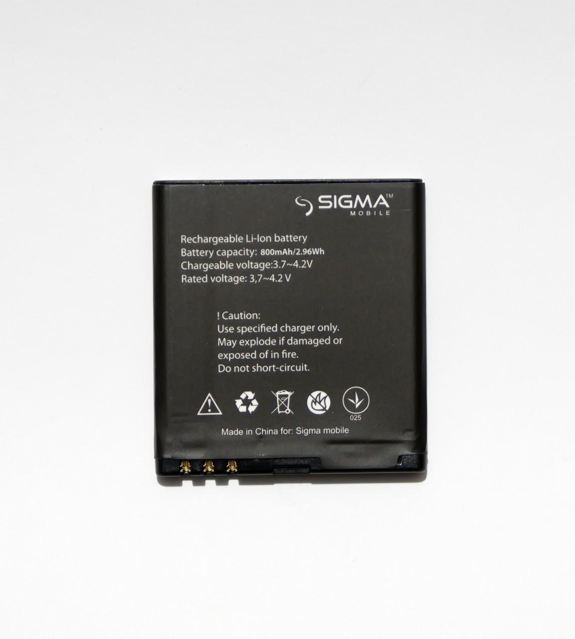 Оригинальная батарея для Sigma Comfort 50 Shell DUO - 800 mAh
