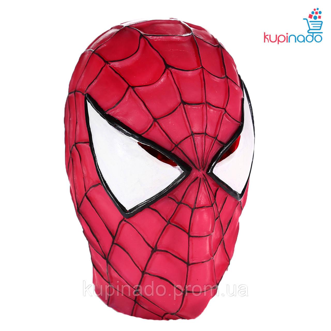 Маска человека паука (spiderman)