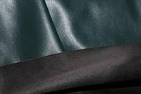 Ткань эко кожа темно зеленая (бутылка), фото 1