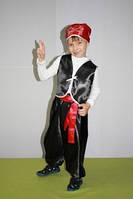 Детский новогодний карнавальный костюм разбойника, пирата