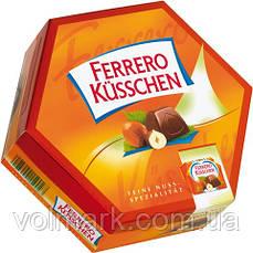 Конфеты Ferrero Kusschen caramel (ферреро), 186 гр.