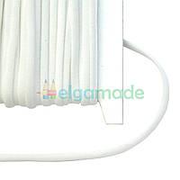 Резинка плоская БЕЛАЯ, 5 мм, 1 м