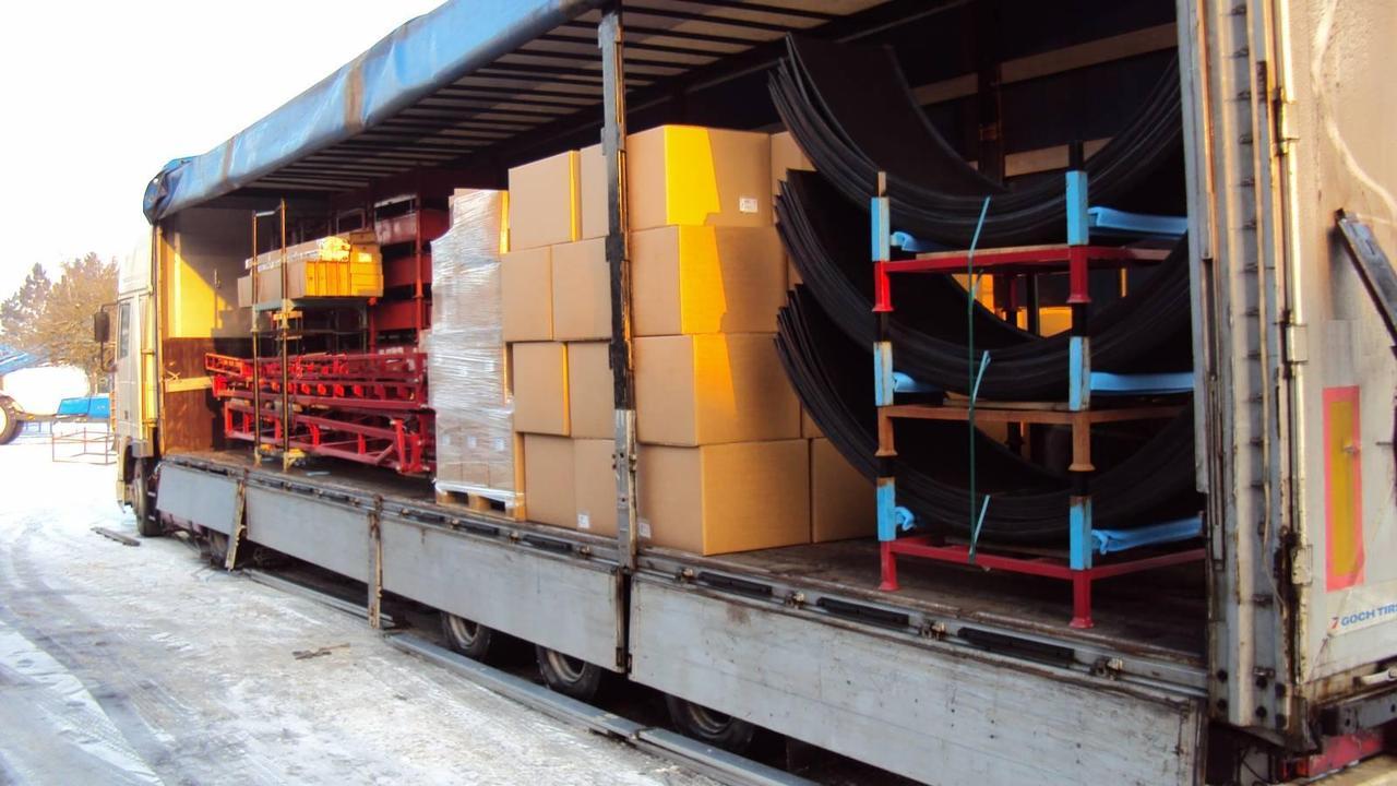 Перевозка запчастей в Псков и область
