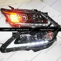 Альтернативная оптика Toyota Camry V50 тюнинг-оптикa Lexus style