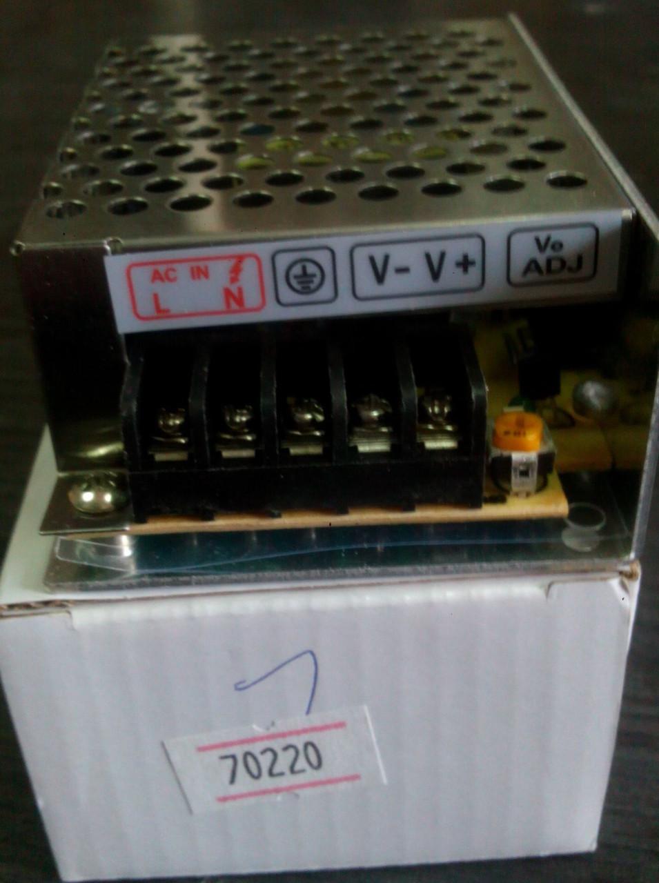 Блок питания DC12 25W 2,1А