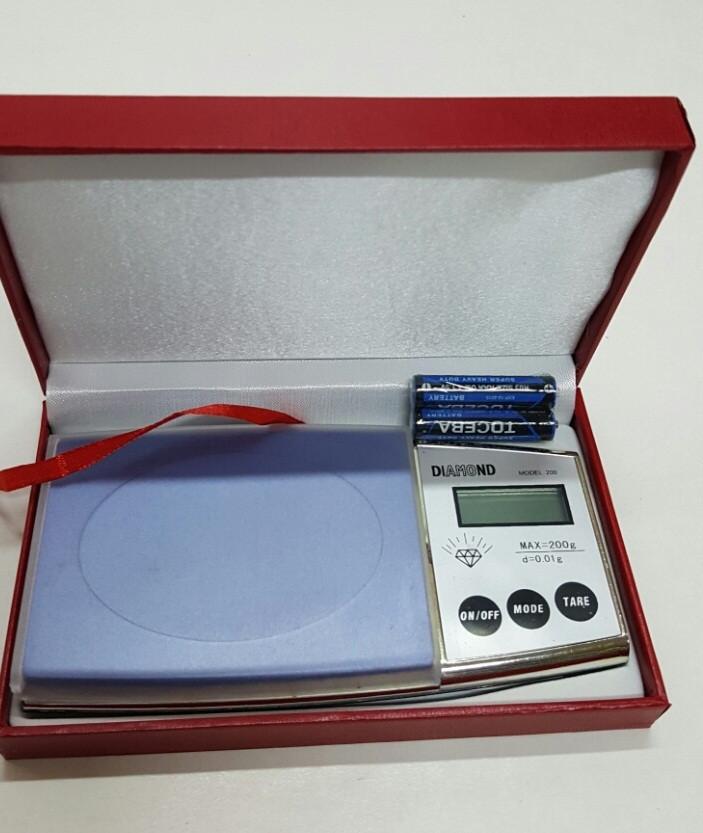 Ювелирные весы для золота Diamond (34 F), 200гр