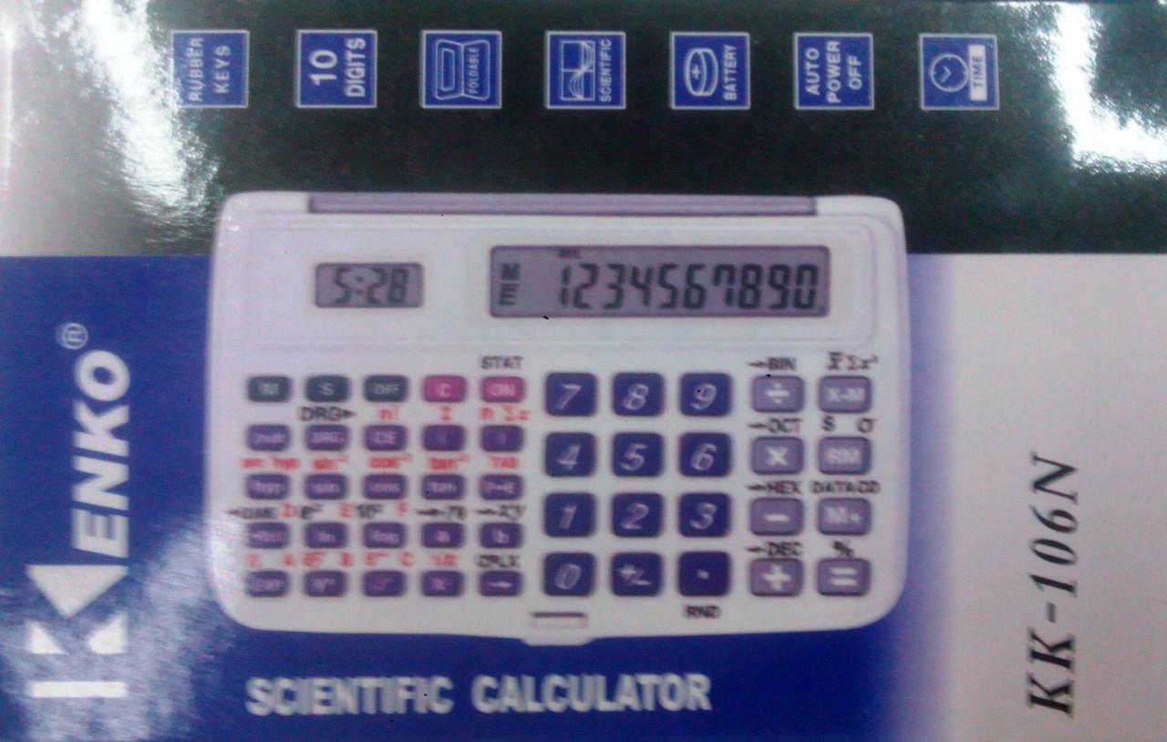 Калькулятор Kenko 105,106