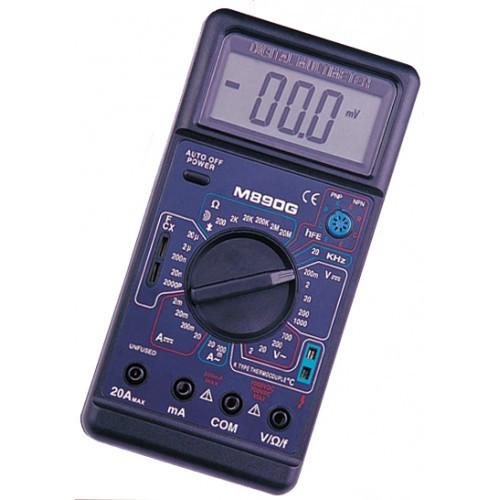 Мультиметр M890G тестер цифровой