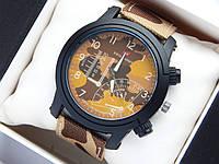 Мужские (Женские) кварцевые наручные часы Swiss Army на ремешке из ткани (полиэстера), хаки, песочный камуфляж