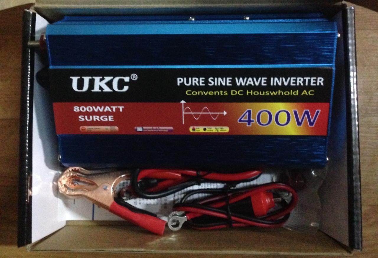 Преобразователь UKC XR-400B/YR-400B авто инвертор 800W