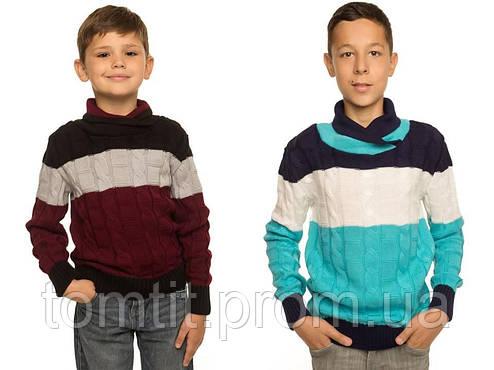 """Детский шерстяной свитер """"Тэйлор"""", для мальчика - оптом, фото 2"""