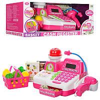 Кассовый аппарат 8343, калькулятор, сканер, продукты, световые и звуковые эффекты