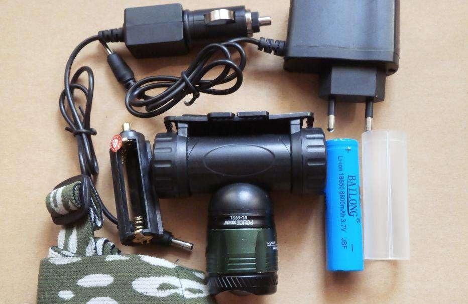 Фонарь налобный фонарь Police Bailong BL-6951 30000W