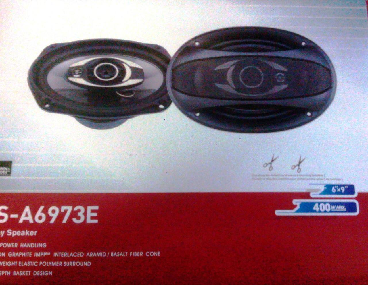 Автоаккустика Pioneer TS-A6973E 400W 15x23 см 6x9'' реплика