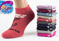Женские носочки коротенькие ангора D-02-05 Z. В упаковке 12 пар, фото 1