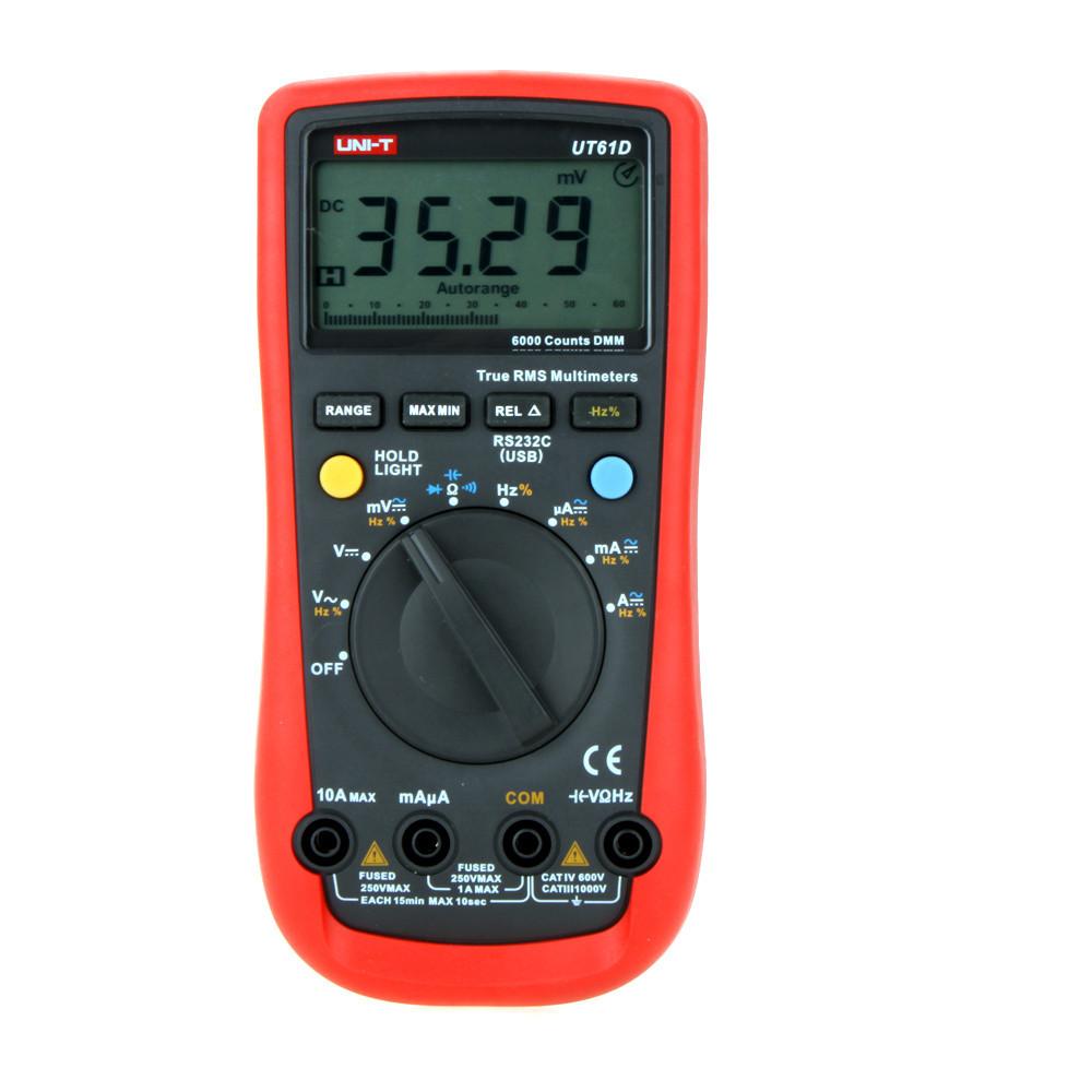 Мультиметр Uni-t UT61D универсальный автомат