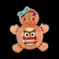 Елочная игрушка для вышивания бисером FLE-027