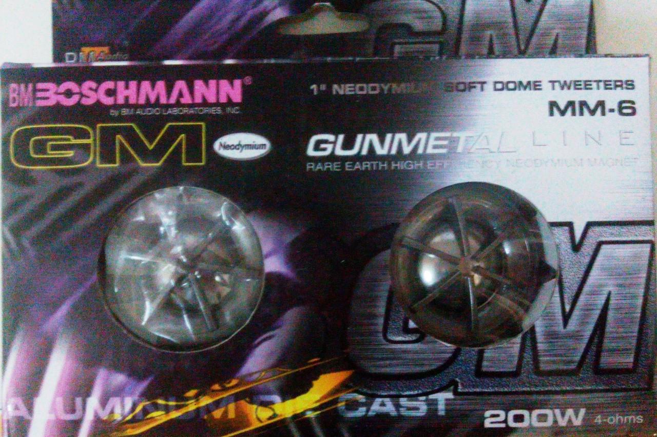 "Набор авто акустики BM Boschmann MM-6 200W 2"" (5см) Blister твитеры, пищалки."
