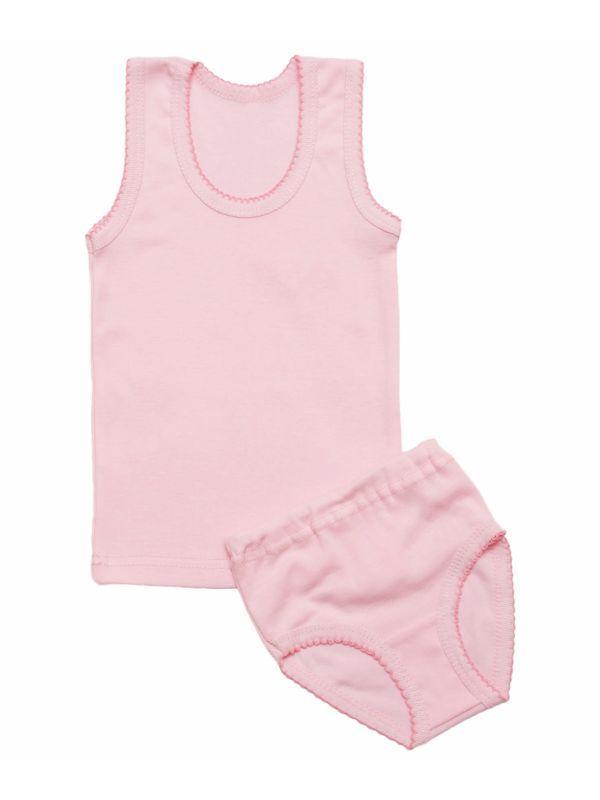 Комплект нижнего белья для девочки цветной